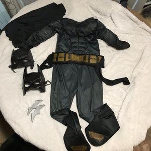 Boys Batman Costume Sz Small
